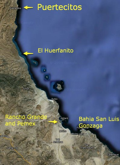 algodones mexico map with Puertecitos To Gonzaga Bay And Mexico Route 1 on Algodones1 l as well Arizona besides Us Mexico Border Fence as well Yuma also Mapa Y Escudo Baja California.