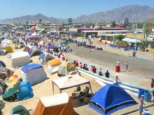Visitors Intermittently But Surely Have Crowded Most Hotels Als And Camping Places Along The Coastline Of San Felipe Bahía De Gonzaga Corridor