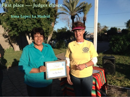 First Place Winner - Irma Lopez La Madrid