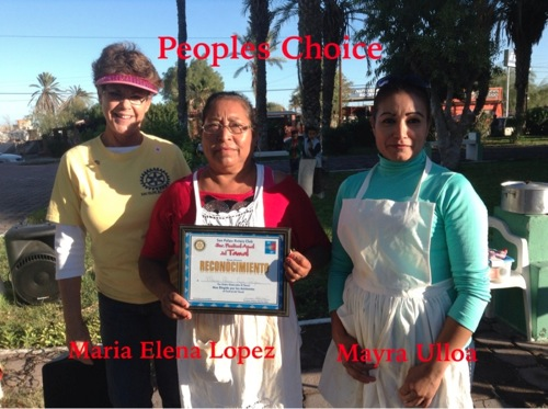 People's Choice Winners - Maria Elena Lopez and Mayra Ulloa