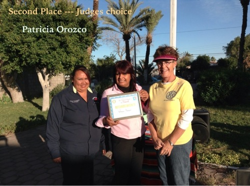 Second Place Winner - Patricia Orozco
