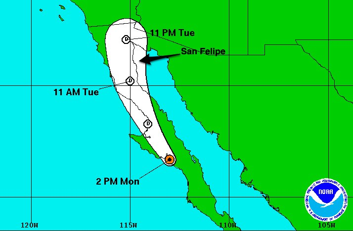 Tropical Depression BLANCA2pm060815