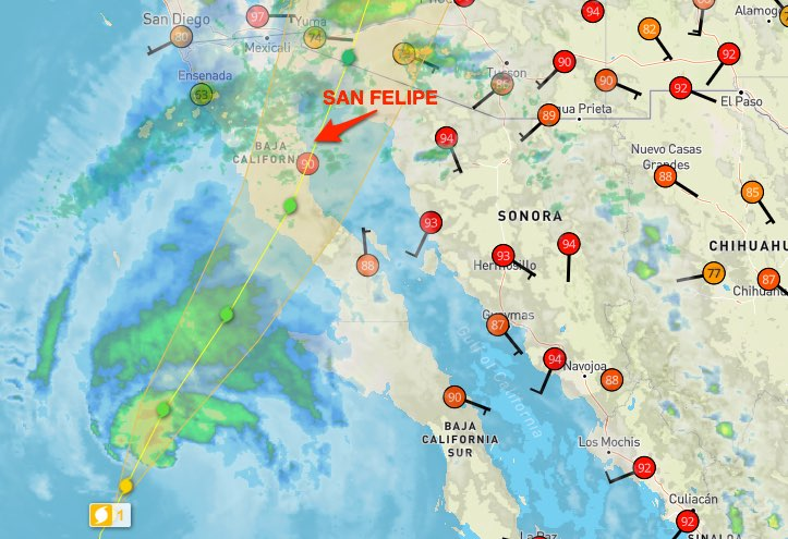 Rosa 2018 09 30 3pm Interactive Weather Map And Radar Weather